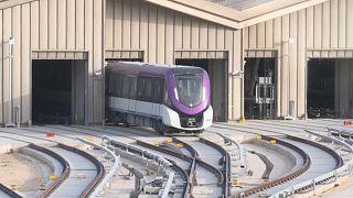 مترو الرياض قيد الإنشاء