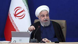الرئيس الإيران حسن روحاني