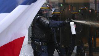 France police protest
