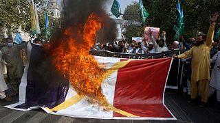 تصاویر آرشیوی از تظاهرات اکتبر گذشته در پاکستان