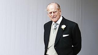 Fülöp herceg unokája, Eugénia hercegnő esküvőjén 2018 októberében.