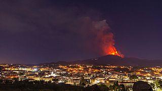 Az Etna kitörése