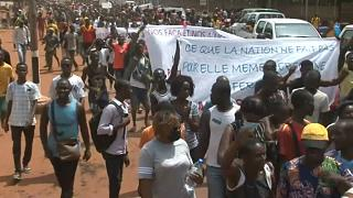 CAR: Thousands protest in Bangui over Mankeur Ndiaye's discourse