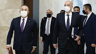 Dışişleri Bakanı Mevlüt Çavuşoğlu, Yunanistan Dışişleri Bakanı Nikos Dendias