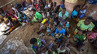 أطفال من  قرية تومالي في ملاوي  لاختبار أول لقاح في العالم ضد الملاريا في برنامج تجريبي -2020