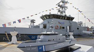 Τελετή ένταξης δύο περιπολικών πλοίων στον στόλο του Λιμενικού Σώματος