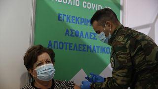 Ελλάδα - Εμβολιασμοί Covid-19