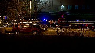 حادث إطلاق نار في مدينة إنديانابوليس الأمريكية