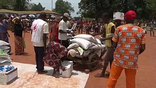 Much needed food aid reaches the Central African Republic