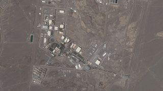 Das Satellitenfoto von Planet Labs Inc. zeigt die iranische Atomanlage Natanz am Mittwoch, den 14. April 2021