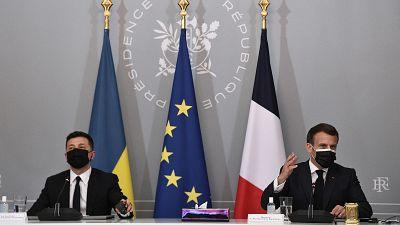 Ukrayna, Fransa ve Almanya'dan Rusya'ya birliklerinizi çekin çağrısı