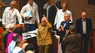 Raul Castro, first secretary of the Communist Party