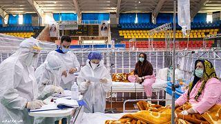 بیماران مبتلا به کرونا در شیراز