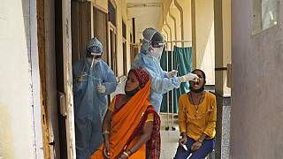 Coroanvirus-Tests in Indien