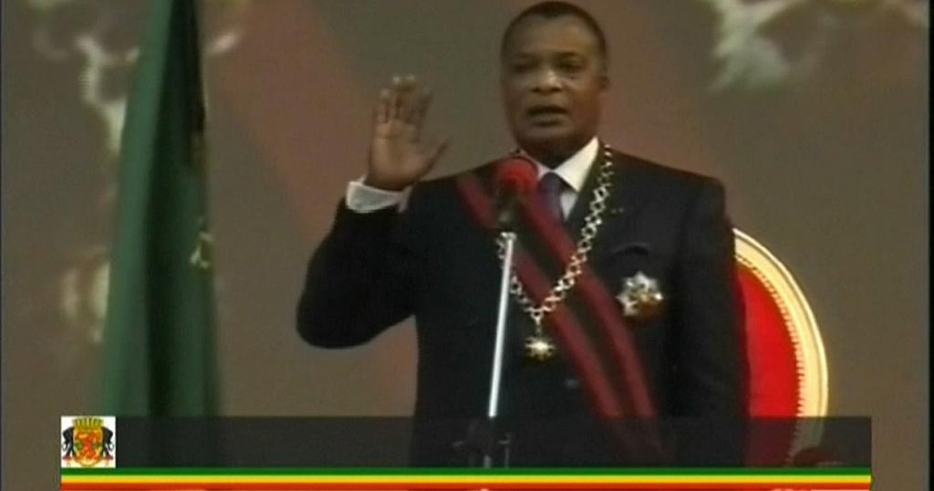 Congo's Dennis Sassou -Nguesso sworn in for fifth term