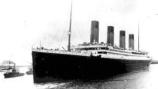 Archív felvétel: a Titanic kifut