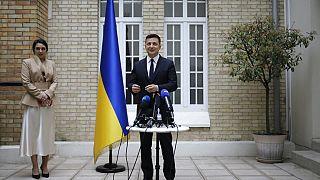Ο πρόεδρος της Ουκρανίας Βολοντίμιρ Ζελένσκι