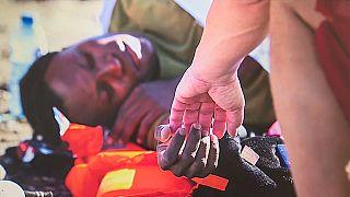 La fotoexposición 'SOS: Humanidad en Peligro' expone el drama migratorio en Canarias