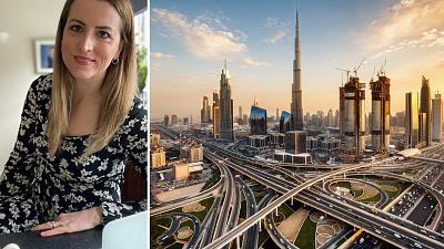 Jacqueline Steele experiences reverse culture shock when she left her home in Dubai for the UK.