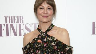 Actress Helen McCrory at the BFI in central London on April 12, 2017.