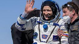 La nave Soyuz MS-17 aterriza exitosamente en Kazajistán con tres tripulantes a bordo