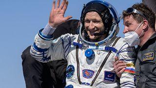 Regresso da ISS em segurança