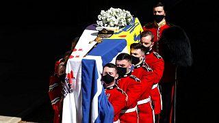 مراسم تدفین شاهزاده فیلیپ