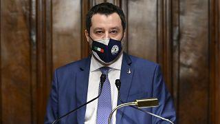 Бывший глава МВД Италии Маттео Сальвини