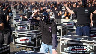Italia, Suiza y Bosnia protestan contra la gestión de la pandemia