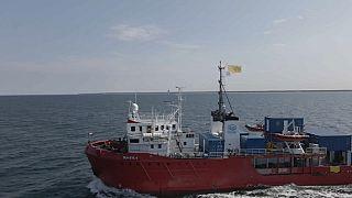 Sea-eye 4 auf dem Weg nach Spanien
