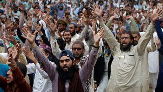 هواداران حزب تحریک لبیک پاکستان