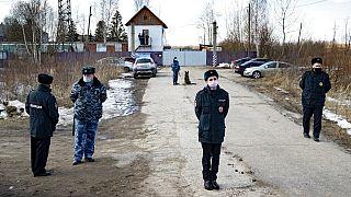 Prisión de Pokrov en la que permanece Alexéi Navalni