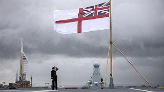 """""""HMS Queen Elizabeth"""" uçak gemisi"""