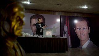 تعد هذه الانتخابات الثانية منذ بدأ النزاع في سوريا عام 2011