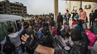 Kamışlı, Suriye 18 Nisan 2021