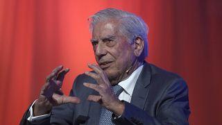 El escritor peruano y premio Nobel de Literatura, Mario Vargas Llosa.