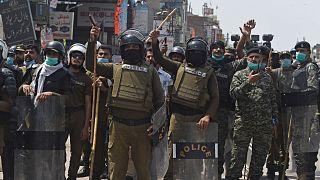 عناصر من الشرطة الباكستانية