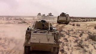 قوات للجيش المصري في سيناء