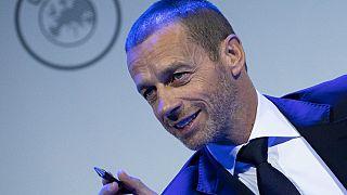 Il presidente della Uefa, Aleksander Ceferin