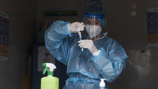 Greece, virus outbreak
