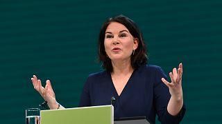 Almanya Yeşiller Partisi'nin başbakan adayı Annalena Baerbock