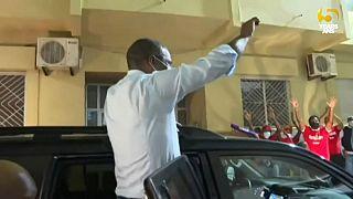 Le Premier ministre cap-verdien salue ses partisans