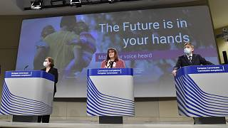 Launching of the platform Conference on the Future of Europe