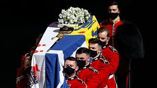 تشييع جثمان الأمير فيليب