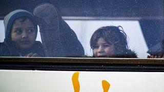 Des orphelins russes dont les parents avaient rejoint l'Etat islamique sont rapatriés de la Syrie vers la Russie