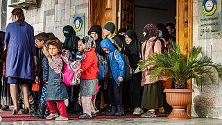تحویل فرزندان جنگجویان کشته شده داعشی به روسیه