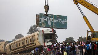 Égypte : un accident de train fait 11 morts et 100 blessés