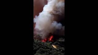 حريق كيب تاون - جنوب إفريقيا