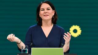 Germany's Green party co-leader Annalena Baerbock