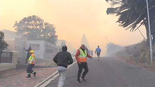 Incêndios na Cidade do Cabo, África do Sul